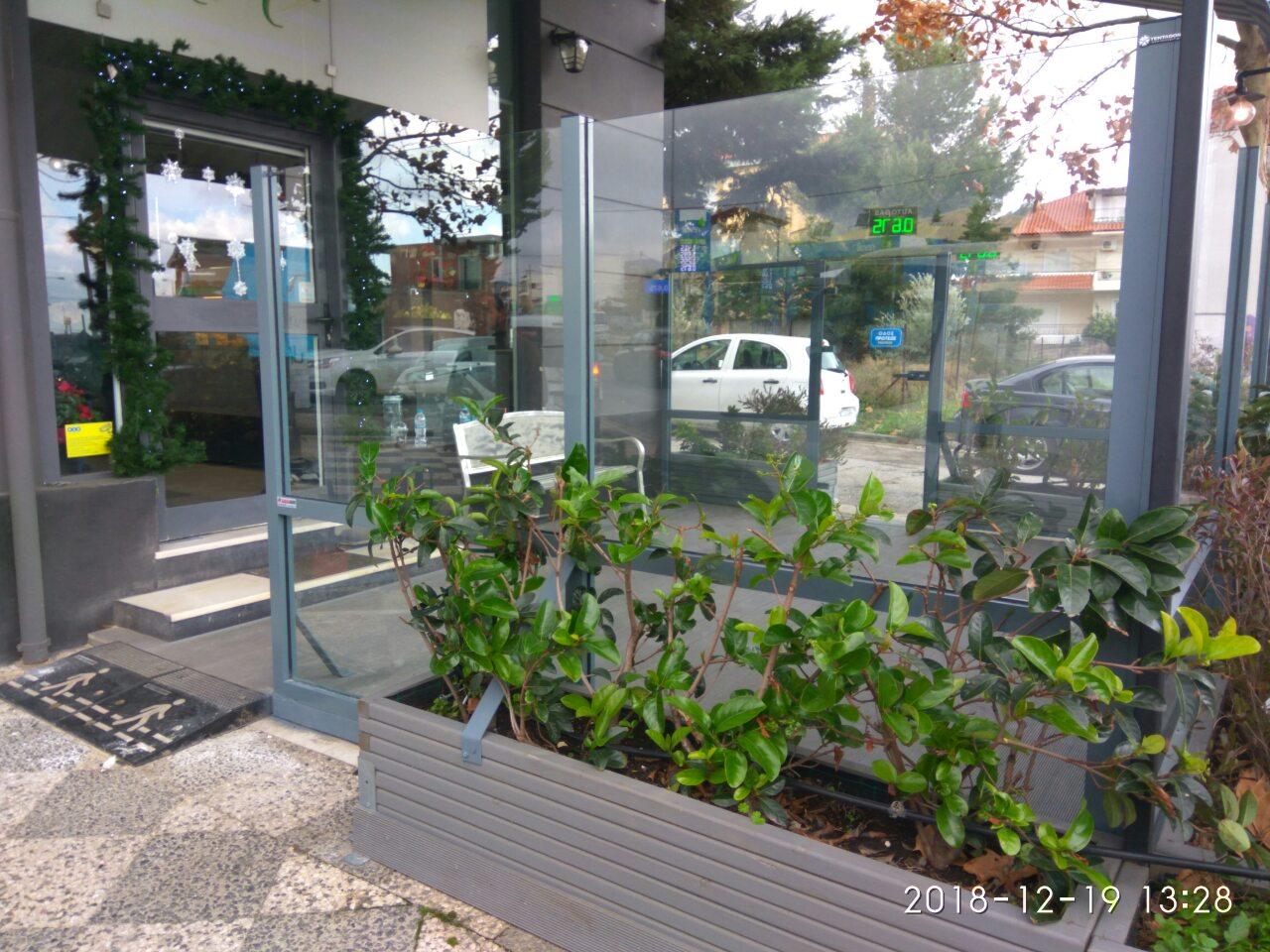 Τοποθέτηση συστήματος ανεμοφρακτών σε φούρνο στο Χαλάνδρι | Tentagon