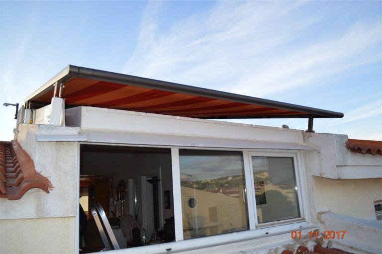 Markilux 870 zip σε κατοικία στον Γέρακα | Tentagon