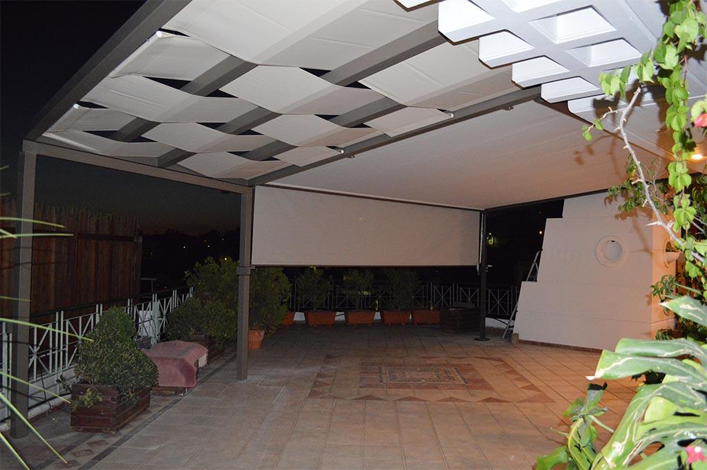 Πέργκολα markilux 210 σε κατοικία στην Πάτρα | Tentagon