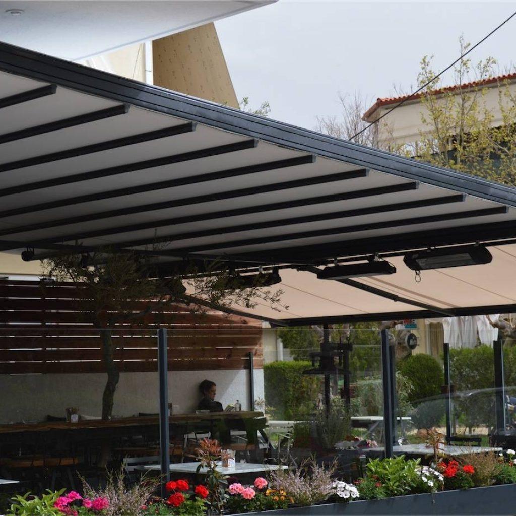 Περγκοτέντα στο καφέ Jardin στην Παλλήνη από την Tentagon