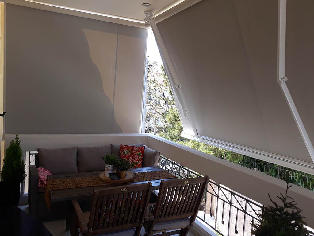 Τέντες σε κατοικία στον Γέρακα | Tentagon