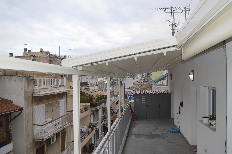 Σύστηματα περγκοτέντας σε ρετιρέ στην Αθήνα | Tentagon